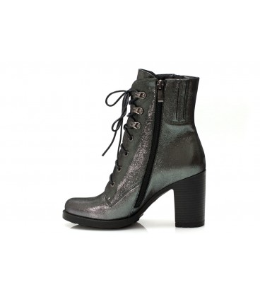 Women's boots C122-9773 SILVER