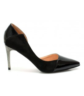 Women's shoes D240-F878 BLACK