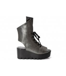Ladies sandals TS-001 PEWTER