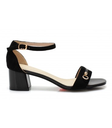 Ladies sandals 10G1126-95 BLACK