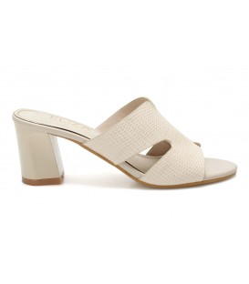 Ladies slippers 6804-1 BEIGE