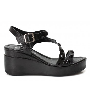 Ladies sandals 6089-2 BLACK