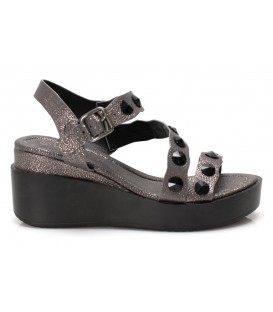Ladies sandals 6089-2 PEWTER