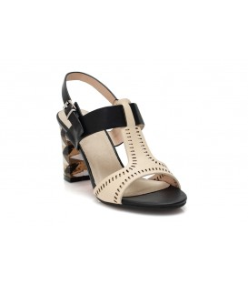 Ladies sandals CL009-159 BEIGE