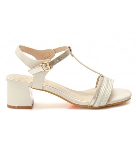 Ladies sandals WZ06-7 BEIGE