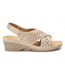 Ladies sandals JSDH17265-12 BEIGE