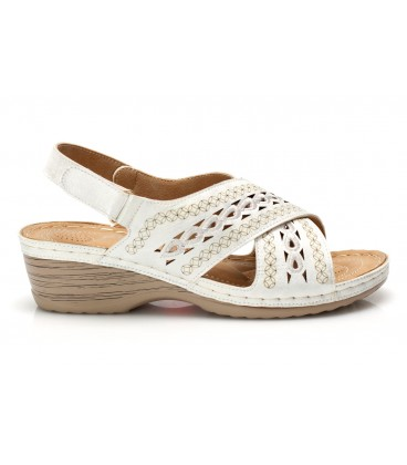 Ladies sandals JSDH265-12 WHITE