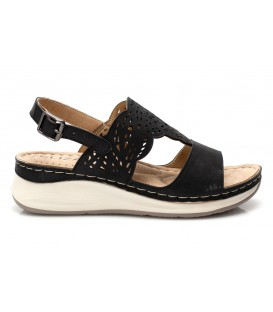 Ladies sandals 35718-5 BLACK