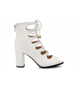 Ladies sandals F1880-L240 WHITE