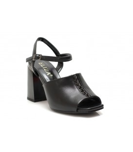 Ladies sandals E2233B-7211 BLACK