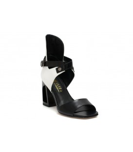 Ladies sandals C965-P478 WHITE