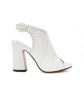 Ladies sandals C833-B75 WHITE