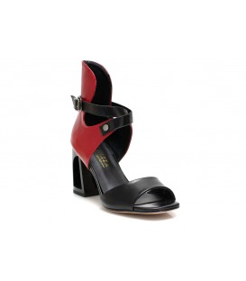 Ladies sandals C965-P478 RED