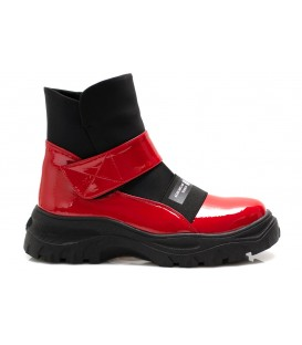Women's boots Z859-R806 RED