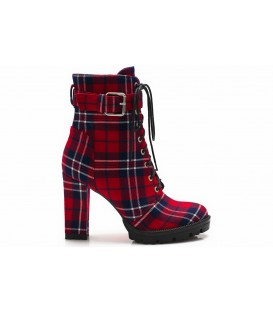 Women's boots Z854-C427 RED