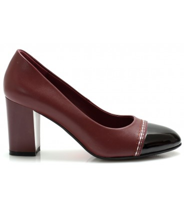 Women's shoes A1322-k646 BURGUNDY