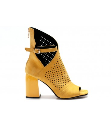 Women's shoes C1191-P822 YELLOW