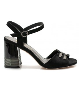 Ladies sandals C1097-P516 BLACK