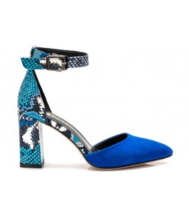 Ladies sandals C1192-R01 BLUE