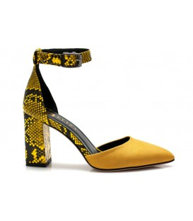 Ladies sandals C1192-R01 YELLOW
