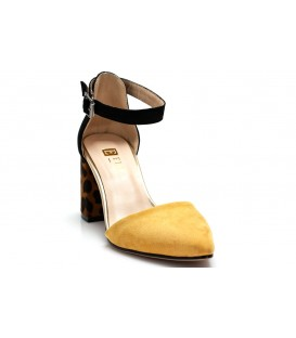 Ladies sandals C1007-H82 YELLOW