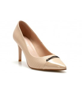 Women's shoes L585-K584 BEIGE