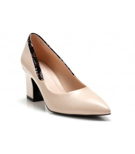 Women's shoes A1682-Z704 BEIGE