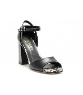 Ladies sandals C1069-P620 BLACK