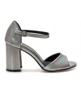 Ladies sandals C835-H542 PEWTER