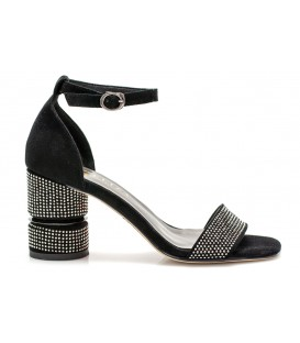 Ladies sandals C1086-C169 BLACK
