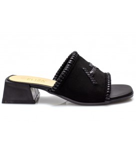 Ladies slippers 18195-3 BLACK