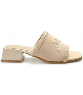 Ladies slippers 18195-3 BEIGE