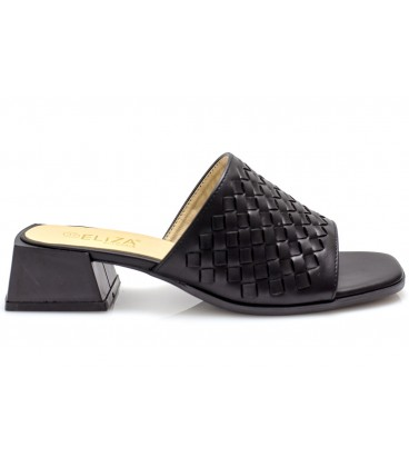 Ladies slippers 18195-2 BLACK