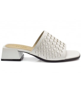 Ladies slippers 18195-2 WHITE